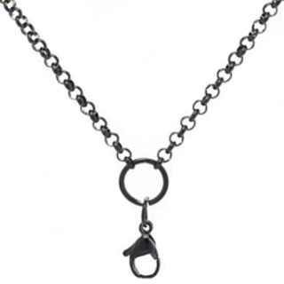 Gunmetal Bellissima Living Lockets Chain - 86cm