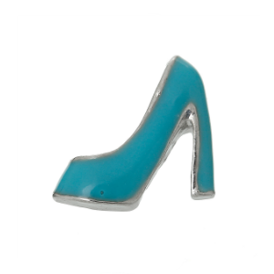 High Heel - Teal Blue