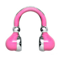 Fuchsia Headphones