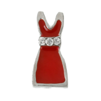 Little Red Dress with Crystal Accents