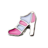 High Heel - Pink & White