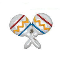 Colourful Maracas Charm