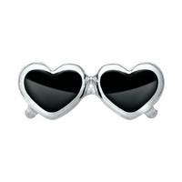 Black Heart Sunglasses Charm