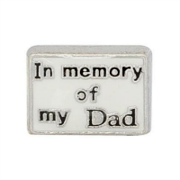 In Memory of My Dad Charm