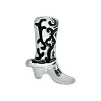 Silver Boot Charm
