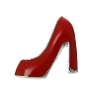 High Heel Charm - Racey Red