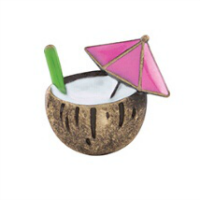 Coconut Drink Charm