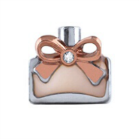 2nd Edition Perfume Bottle Charm with Crystal Accent