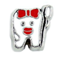 Tooth & Toothbrush Charm