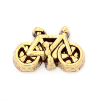 Vintage Gold Bicycle Charm