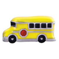 Yellow School Bus Charm
