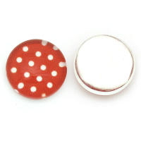 Red & White Polkadots Charm