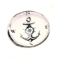 Anchor Dome Charm #1