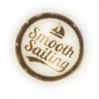 Smooth Sailing Dome Charm
