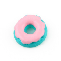 Pink Icing Resin Doughnut Charm