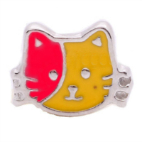 Red & Yellow Hello Kitty Charm
