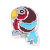 Cartoon Parrot Charm